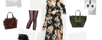 Zwiewna sukienka z botkami :)
