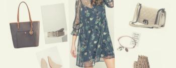 Zwiewna sukienka dla sylwetki E