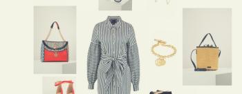 Wiosenna sukienka dla sylwetki T