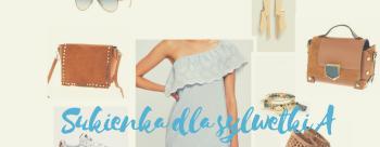 Letnia sukienka dla sylwetki A