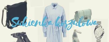 Sukienka koszulowa w roli głównej :)