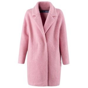 Różowy płaszcz marki La Redoute+JACQUEMUS
