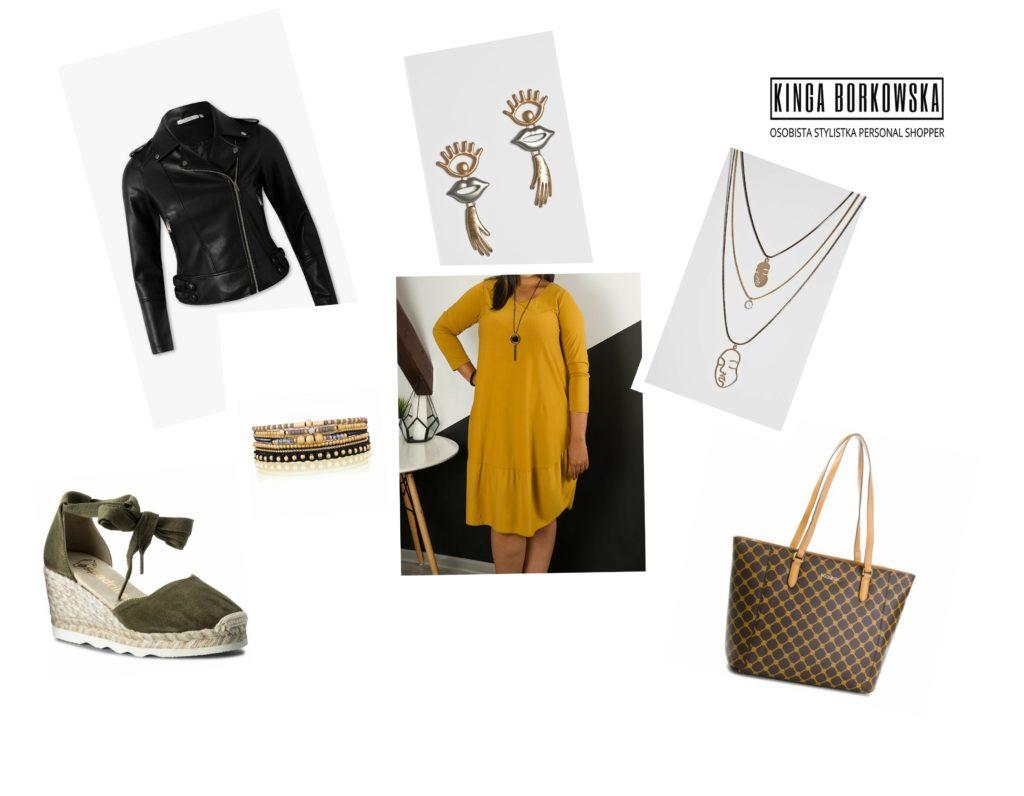 sukienka- ramoneska- ciemna jesień, ciepła jesień- stonowana jesień- stylistka radzi